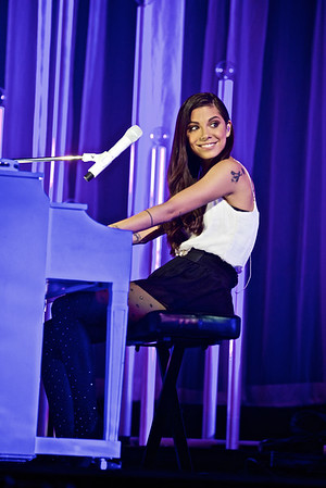 Christina Perri at Barclays